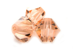 6mm Swarovski Crystals Light Peach S6C10 - Mi Amore