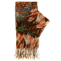 Women's Fashion Scarf - Multi-Color - Multi Print SFS12