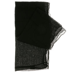 Women's Black Fashion Infinity Scarf - SFS17