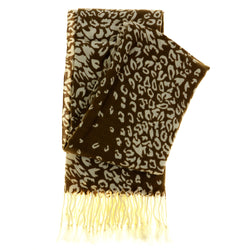 Women's Fashion Scarf - Cheetah Print Design SFS24