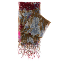 Women's Fashion Scarf - Multi-Color - Multi Print SFS25