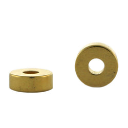 4mm Magnetic Spacer Goldplate Dancing Bead 100Pc SPMG24