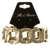 Gold-Tone Metal Stretch-Bracelet #2371