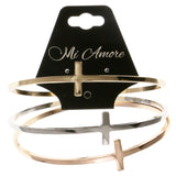 Colorful Metal Multiple-Bangle-Bracelet-Set #2411