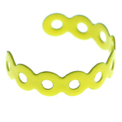Adjustable Circle Toe-Ring Yellow Color  #4450