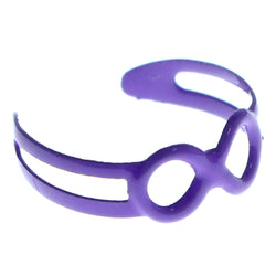 Adjustable Infinity Symbol Toe-Ring Purple Color  #4448