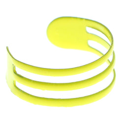 Adjustable Triple Band Toe-Ring Yellow Color  #4447