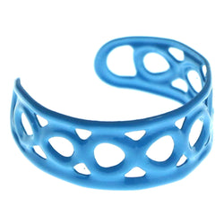 Adjustable Infinity Symbol Toe-Ring Blue Color  #4444
