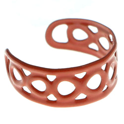 Adjustable Infinity Symbol Toe-Ring Orange Color  #4444