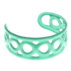 Adjustable Infinity Symbol Toe-Ring Teal Color  #4444