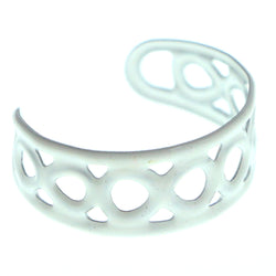 Adjustable Infinity Symbol Toe-Ring White Color  #4444