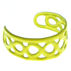 Adjustable Infinity Symbol Toe-Ring Yellow Color  #4444