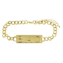 Mi Amore Bad 2in Extender Bangle-Bracelet Gold-Tone