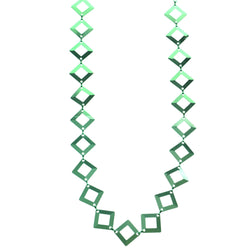 Mi Amore Adjustable Dangle-Belly-Chain Green