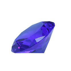 Mi Amore Crystal Jewel Shaped Decorative-Paper-Weight Blue