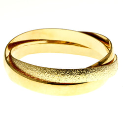 Mi Amore Linked-Bangle-Bracelet Gold-Tone
