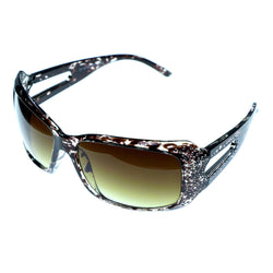 Mi Amore Goggle-Sunglasses Two-Tone Frame/Brown Lens