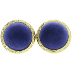 Mi Amore Clip-On-Earrings Gold-Tone/Blue