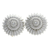 Mi Amore Clip-On-Earrings Silver-Tone