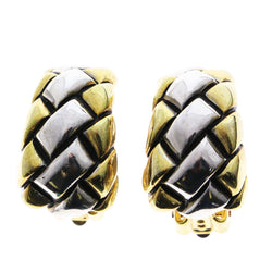 Mi Amore Clip-On-Earrings Gold-Tone/Silver-Tone