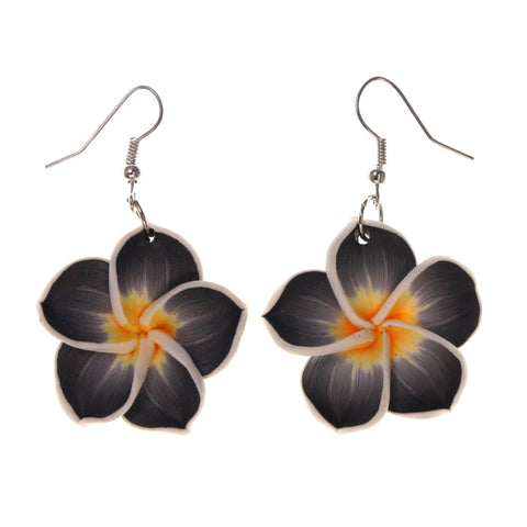 Colorful  Flower Dangle-Earrings #LQE1821