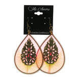 Colorful  Neon Dangle-Earrings #LQE1847