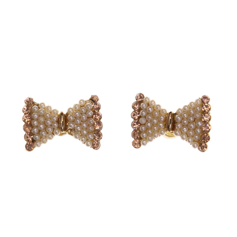 Colorful  Bow Stud-Earrings #LQE1888