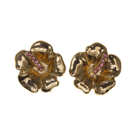 Colorful  Flower Stud-Earrings #LQE1889