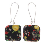 Colorful  Flower Dangle-Earrings #LQE1945