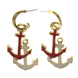 Colorful  Anchor Drop-Dangle-Earrings #LQE2493