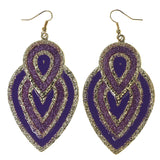 Colorful  Glitter Sparkle Dangle-Earrings #LQE2539