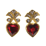Colorful  Heart Stud-Earrings #LQE2598