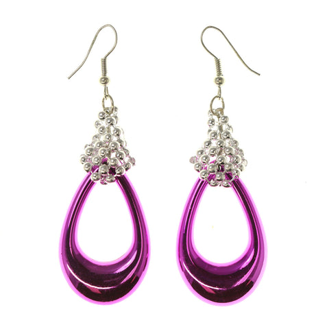 Colorful  Chrome Dangle-Earrings #LQE2739