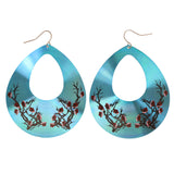 Colorful  Cherry Blossom Dangle-Earrings #LQE2870
