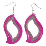 Colorful  Glitter Sparkle Dangle-Earrings #LQE3034