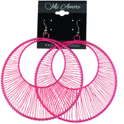 Mi Amore Dangle-Earrings Pink
