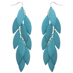 Mi Amore Chandelier-Earrings Blue
