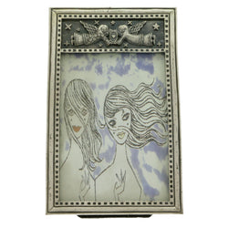 Mi Amore Angel Picture-Frame Silver-Tone