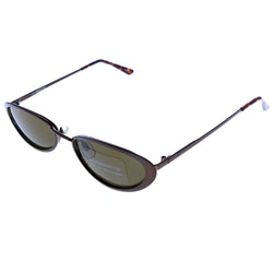 Liz Claiborne UV Protection Sport-Sunglasses Bronze-Tone Frame/Brown Lens