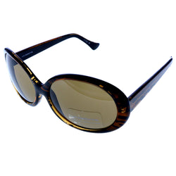 Liz Claiborne Uv Protection Oversize-Sunglasses Tortoise-Shell Frame/Dark-Gray Lens