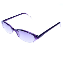 Liz Claiborne Semi-Rimless-Sunglasses Purple Frame/Purple Lens