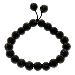 Mi Amore Stretch-Bracelet Black/Yellow