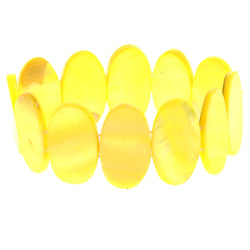 Mi Amore Stretch-Bracelet Yellow