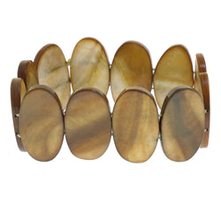Mi Amore Stretch-Bracelet Brown