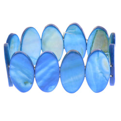 Mi Amore Stretch-Bracelet Blue