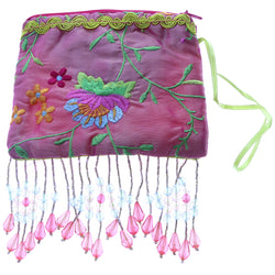Mi Amore Floral Design Coin Purse Pink/Multicolor
