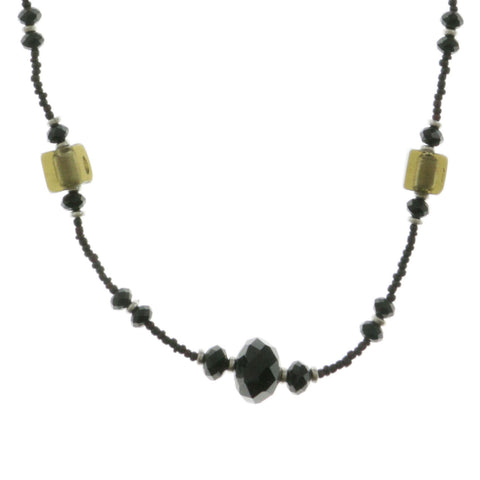 Mi Amore Adjustable Statement-Necklace Multicolor/Black