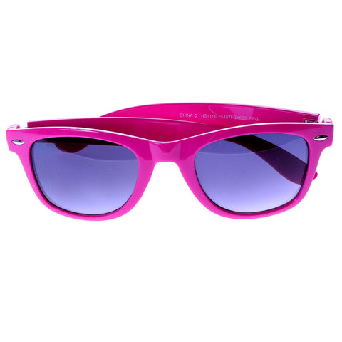 Mi Amore UV protection Vintage Style Sunglasses Pink/Black