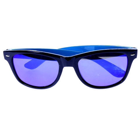 Mi Amore UV protection Vintage Style Sunglasses Black/Blue