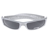 Mi Amore UV protection Florida logo Sport-Sunglasses White